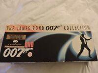 JAMES BOND 007 COLLECTION LIMITED EDITION BOX SET