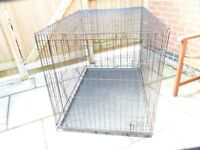 SUPER EXTRA LARGE DOG CAGE, BRAND NEW/UNUSED,TOTAL BARGAIN £50 CAN DELIVER