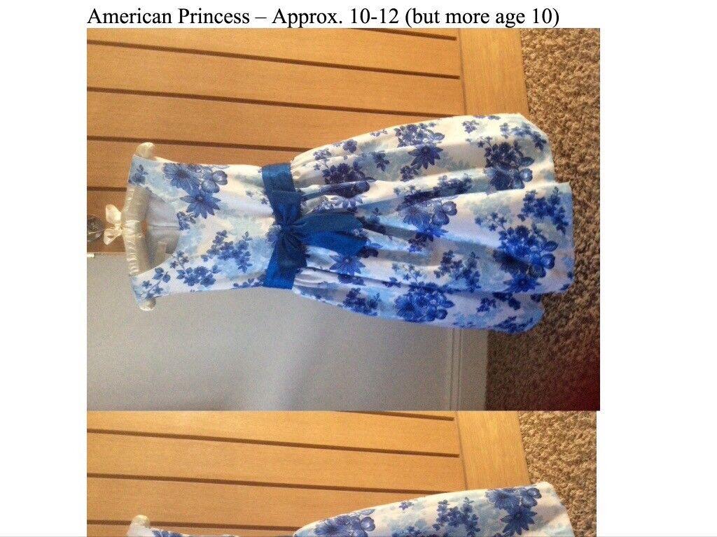 American princess party dresses