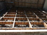 Joists (for decking etc)