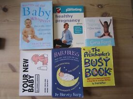 Selection of Pregnancy/Baby Books