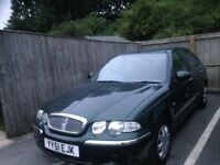 2002 rover 45 low mileage