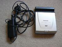 Panasonic Portable DVD/CD player.