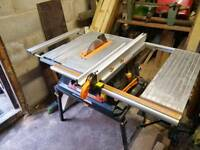 "Evolution Rage 5 saw bench with 10"" saw blade"