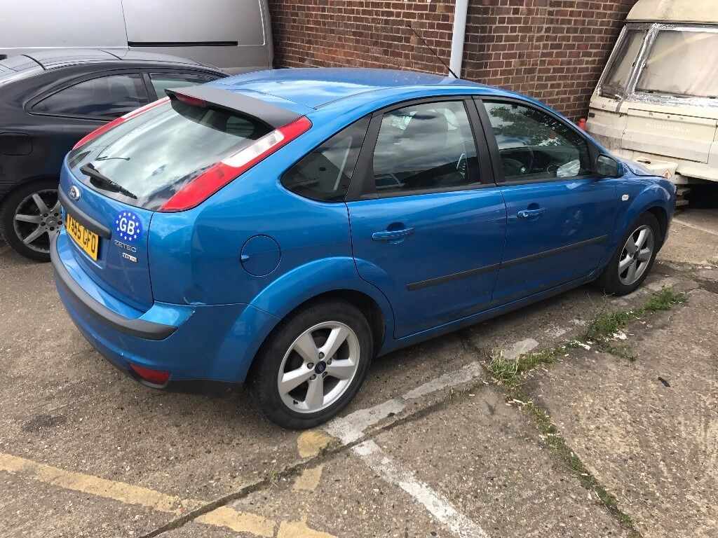 ford focus 2006 55 reg sky blue 1 6 diesel good condition hpi clear with mot very economic. Black Bedroom Furniture Sets. Home Design Ideas
