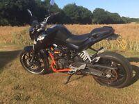 KTM Duke 125 2012 FSH Only 10000 Miles