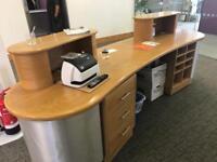 Arched Reception desk