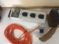 MCG Mobile Mains unit 13 amp IP44