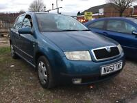 Skoda Fabia 1.4 + FULL SERVICE HISTORY + CAMBELT DONE + 1 KEEPER FROM NEW + LOW MILES