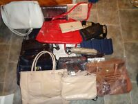 Handbags and purses approx 20 all new