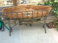 wrought iron plant trough 90 cm (36 inch) - 2 available