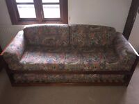 Lovely wooden sofa bed