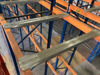 USED PALLET RACKING SUPPORT BARS SHELVING SUPPORT BEAMS (Chelmsford Branch)