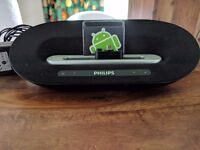 Phillips android phone dock and speaker