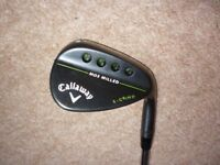CALLAWAY MD3 / MACK DADDY 3 / GAP WEDGE / S GRIND / 52 DEGREE / PROJECT X 6.0 STIFF