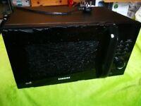 Samsung microwave damaged