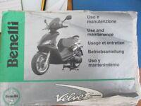 Benelli Velvet 125 cc Scooter