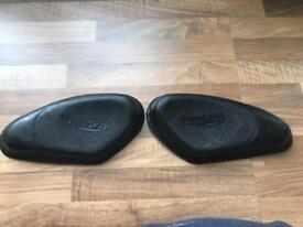 Pair of triumph tank rubbers