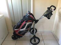Callaway Golf Bag and Stowamatic Trolley