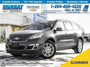 2014 Chevrolet Traverse 1LT *Sunroof, Remote Start, Heated Seats