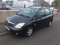 02 Toyota Corolla Verso 2.0 D4D Turbo Diesel MPV 5 Door 124k Moted Drives A1 PX Swap can deliver