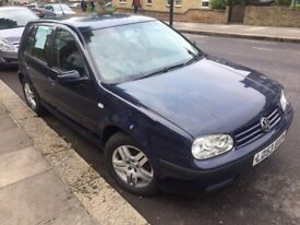 Reliable Golf 1.6. Great condition. Air con, long service history MOT until Sept 2018 £790 o.n.o