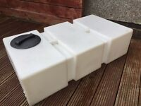 Car Valeting & Window Cleaning Water Tank 150 Litre Flat Used