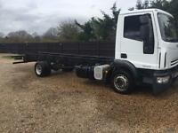 Iveco 120/e18 12 ton chassis cab 2007 ideal recovery scaffold horse box etc no vat