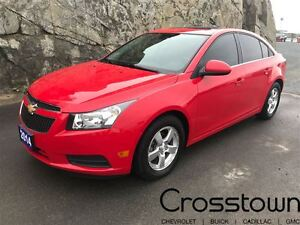 2014 Chevrolet Cruze 2LT/HEATED LEATHER/BACKUP CAM/BLUETOOTH