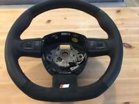 Audi A4 A5 Flat bottom steering wheel