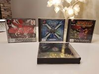Playstation 1 2 3 WARCRAFT 2/ X-COM TERROR FROM THE DEEP / METAL GEAR SOLID