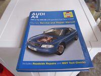 AUDI A4 1995 TO 2000 HAYNES MANUAL