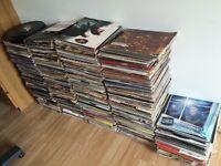 job lot vinyl records, hip hop, rock, dance, garage, 80s dance, singles & LPs