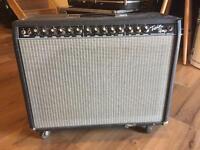 Classic Fender Twin amp
