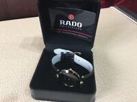 Rado Florence Ladies watch, with sapphire glass and black strap