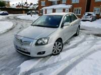 2009 58 toyota avensis tr d-4d 2.2 td low miloes full service history immaculate condition