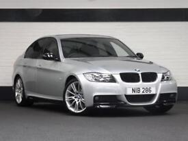 BMW 330i m sport car, full BMWSH, 335i exhaust, 69k miles e90
