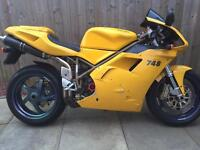 DUCATI 748 - collectible bike - nice machine