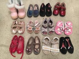 KIDS GIRLS SHOES SANDALS REAL LEATHER SIZE 24 7 8 LELLI KELLI ECCO HELLO KITTY X 12