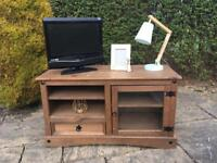 CORONA Mexican PINE tv cabinet unit stand SHABBY CHIC