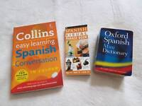 3 x Spanish books - excellent condition!