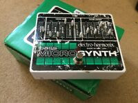 Electro Harmonix - Bass Microsynth - Bass Guitar Effects Pedal