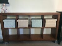 Habitat Walnut Venner Storage/Bookshelves