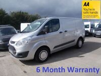 Ford Transit Custom 2.2 TDCi 125 290 SWB Trend L/Roof***ONLY 77,000 Miles**DIRECT FROM LEASE Co***