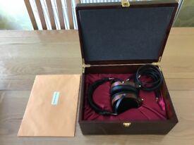 Rosewood Audeze LCD-2 Rev.2 planar magnetic headphones