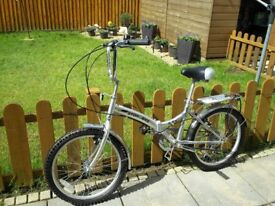 Stowaway Folding Bicycle