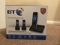 BT cordless handsets x3