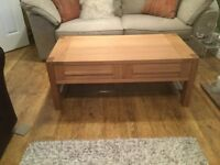 MARKS AND SPENCER COFFEE TABLE