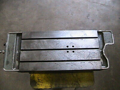 Moore No 1-12 Jig Borer T-slot Table