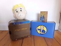 RARE FALLOUT 4 PIPBOY COLLECTORS PS4 + LIMITED EDITION EXTRAS